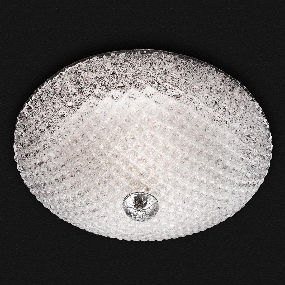 Πλαφονιέρα Μουράνο QUADRI classic Murano ceiling lamp