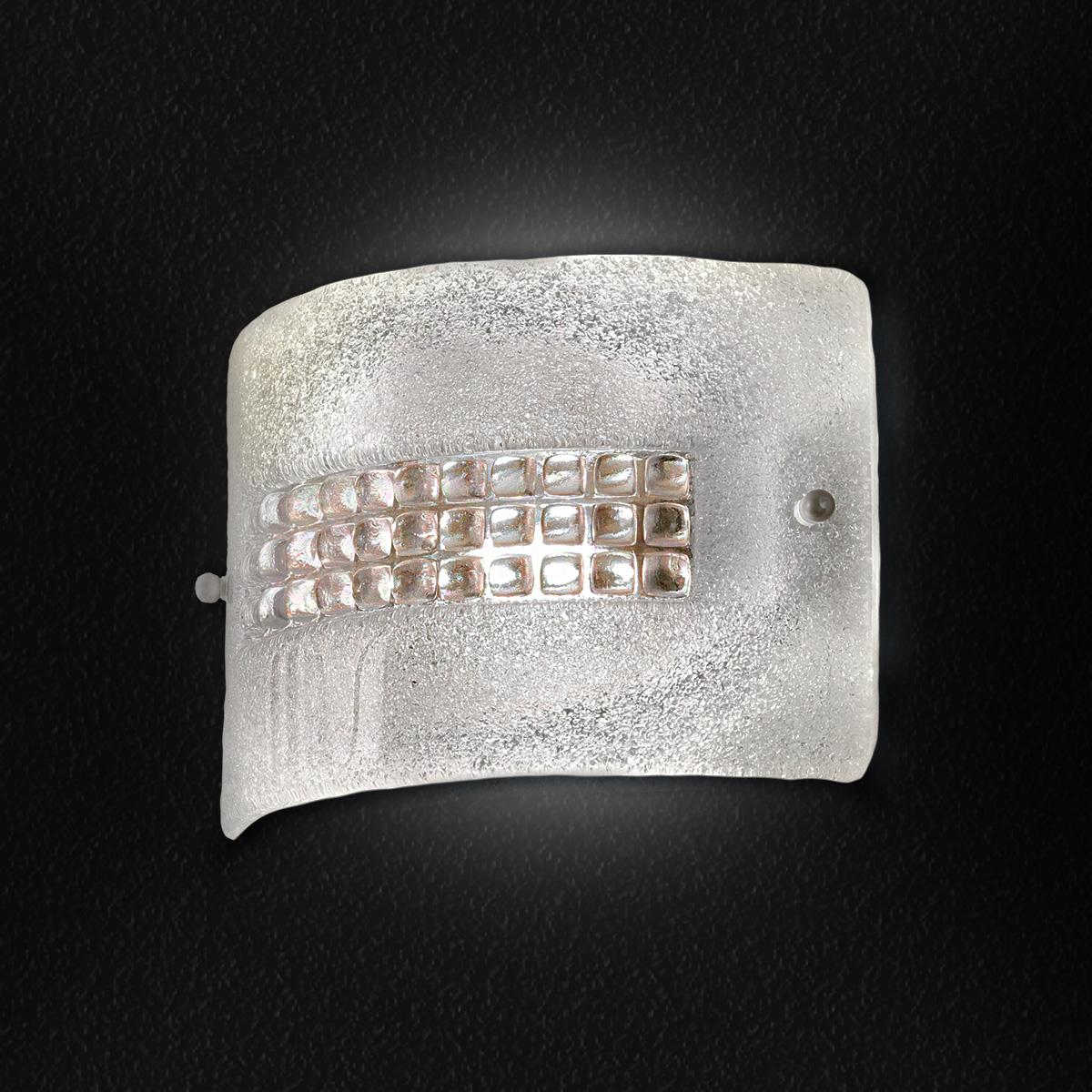 Απλίκα από κρύσταλλο Μουράνο SQUARE murano crystal wall lamp