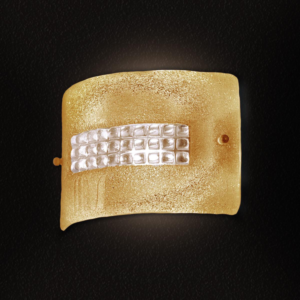 Κλασική απλίκα από κρύσταλλο Μουράνο SQUARE classic Murano crystal wall lamp