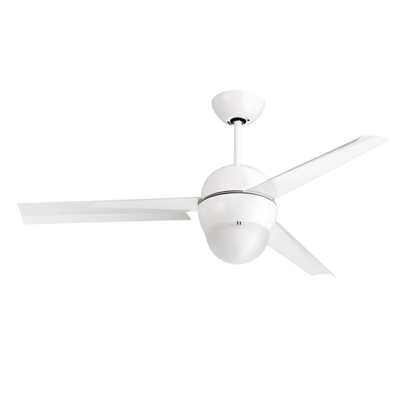 Ανεμιστήρας οροφής λευκός NOOS LED ceiling fan white