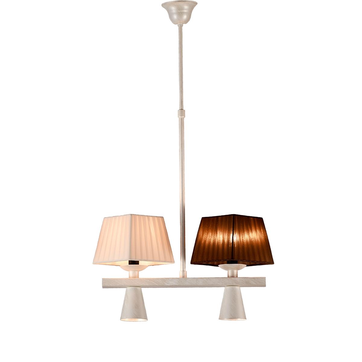 Τετράφωτο φωτιστικό ρουστίκ SMART-CAFE rustic 4-bulb chandelier
