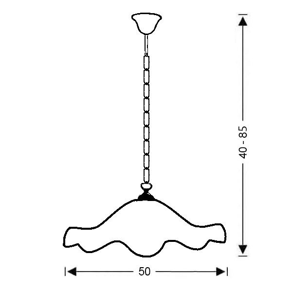 Φωτιστικό κρεμαστό | MURRINA - Σχέδιο - Φωτιστικό κρεμαστό | MURRINA