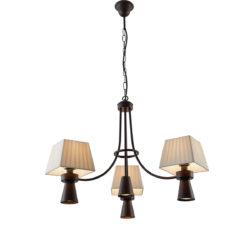 Επτάφωτο φωτιστικό ρουστίκ SMART-CAFE rustic 7-bulb chandelier