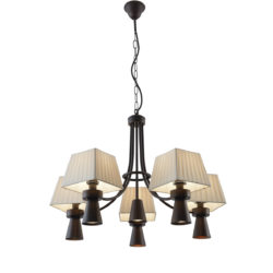 11φωτο ρουστίκ φωτιστικό SMART-CAFE rustic 11-bulb chandelier