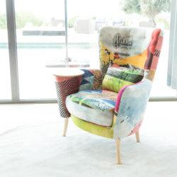 Κομψή πολυθρόνα AGATHA & CHRISTIE elegant armchair