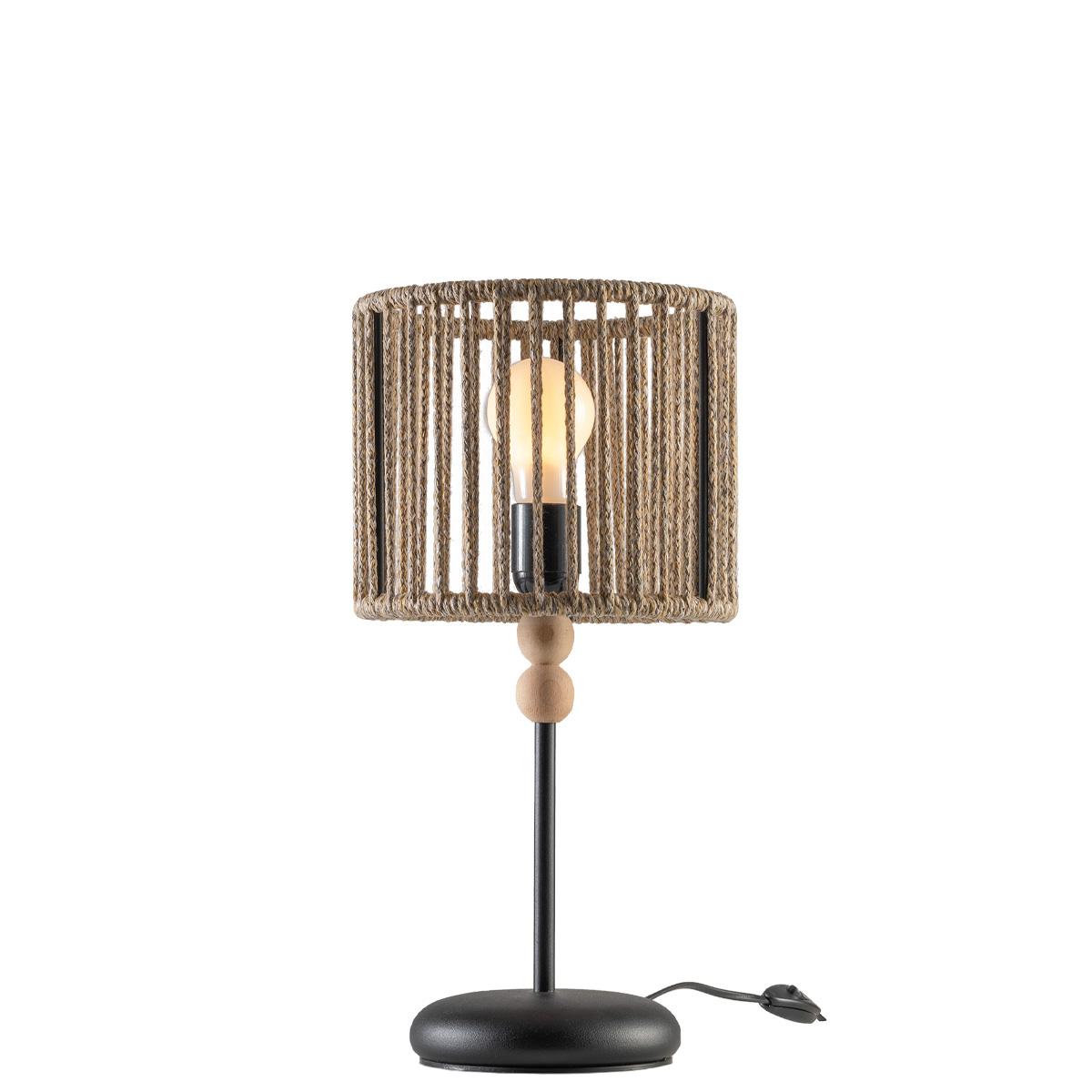 Πορτατίφ από υφασμάτινο κορδόνι KELLY rope-woven table lamp
