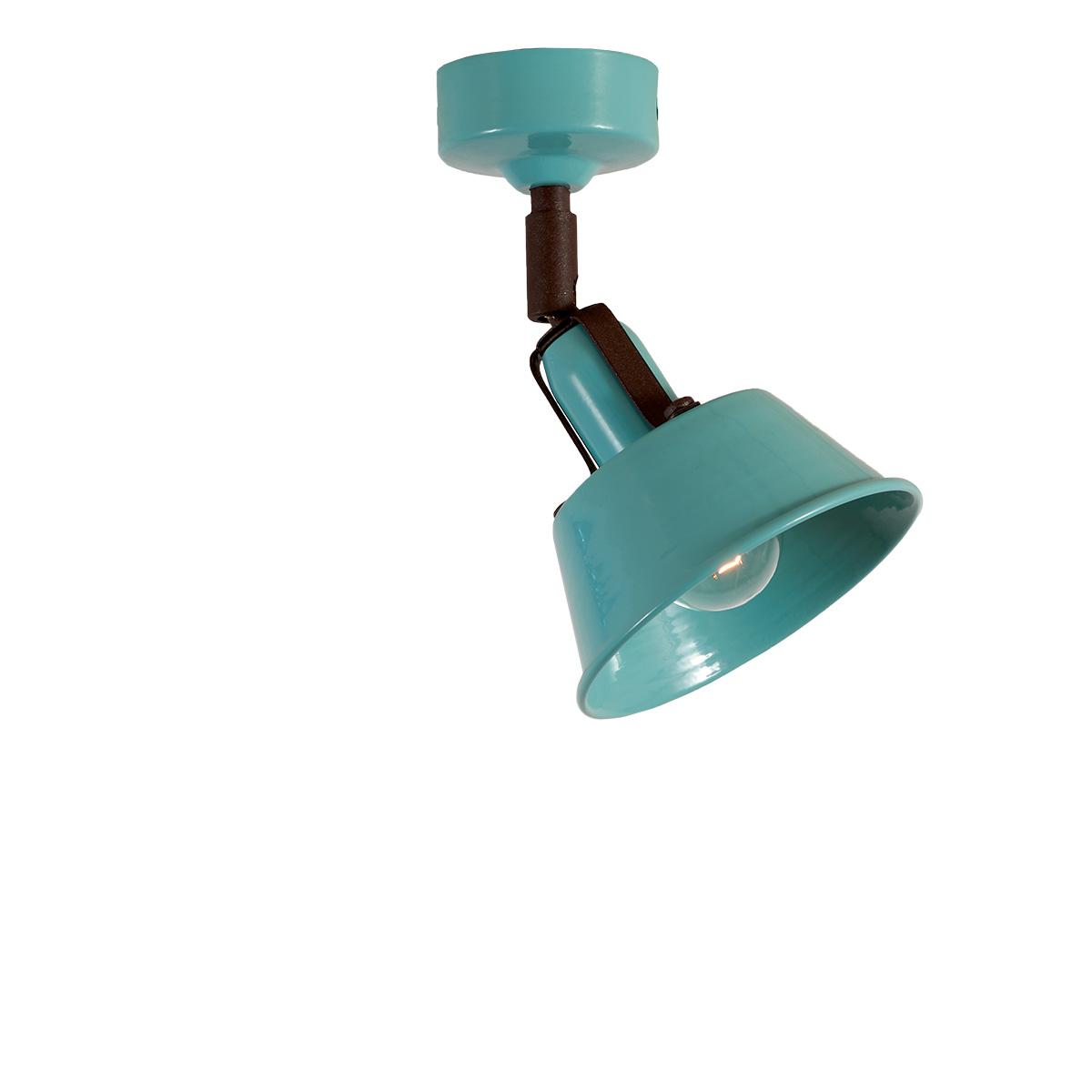 Παραδοσιακό σποτ βεραμάν ΜΗΛΟΣ vintage spotlight pastel turquoise