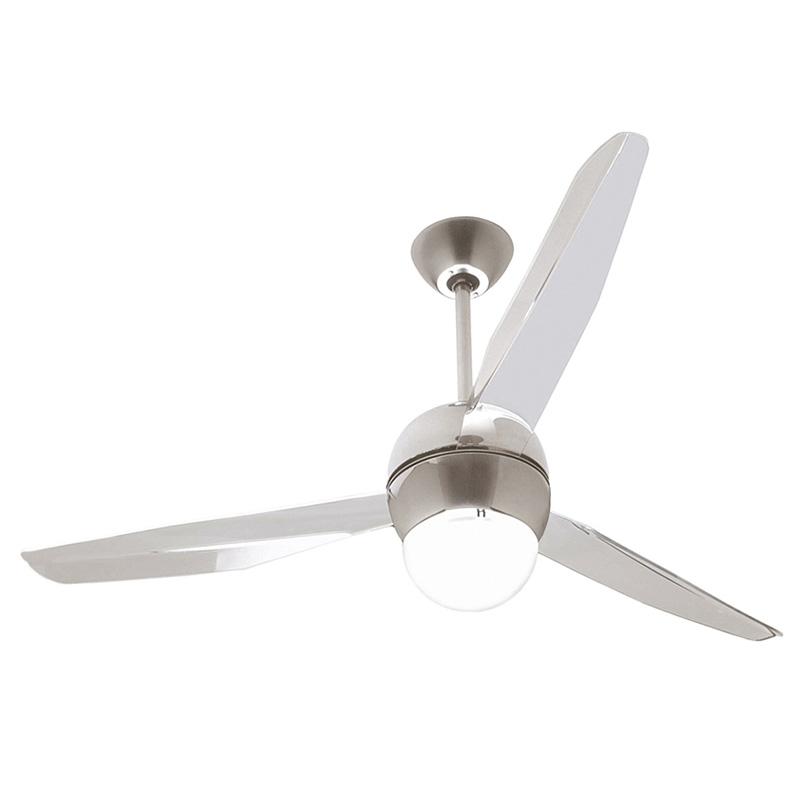 Ανεμιστήρας οροφής χρώμιο SFERA LED ceiling fan chrome