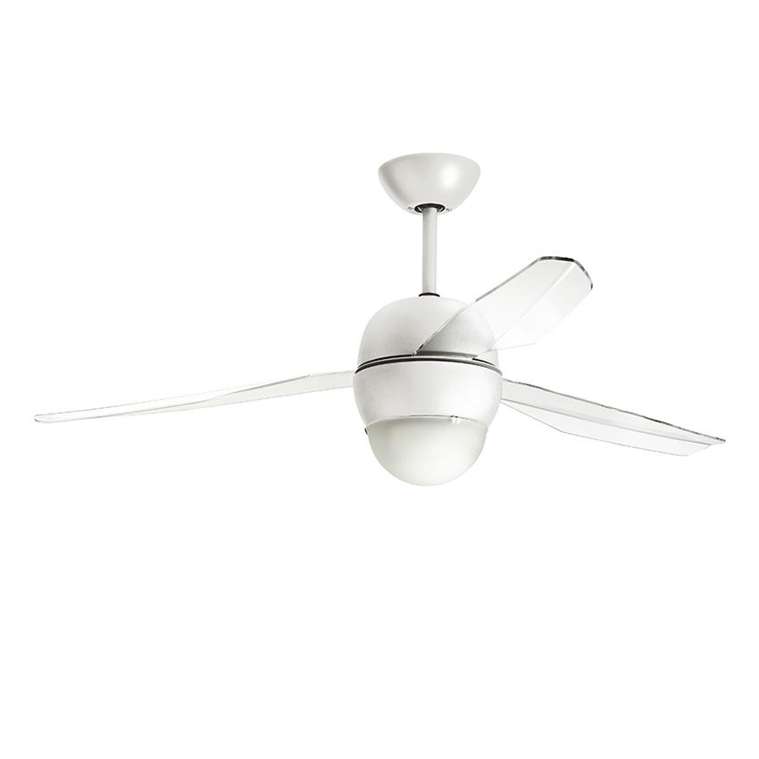 Ανεμιστήρας οροφής λευκός SFERA LED ceiling fan white