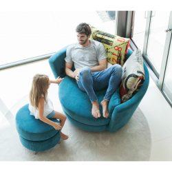 Ανετη πολυθρόνα MY NEST modern armchair