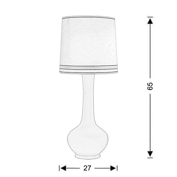 Ρετρό επιτραπέζιο φωτιστικό | DIVA - Σχέδιο - Ρετρό επιτραπέζιο φωτιστικό | DIVA