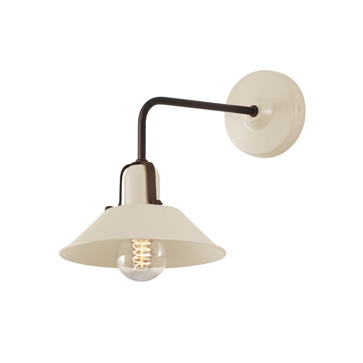 Vintage εκρού απλίκα ΜΗΛΟΣ vintage ecru wall lamp
