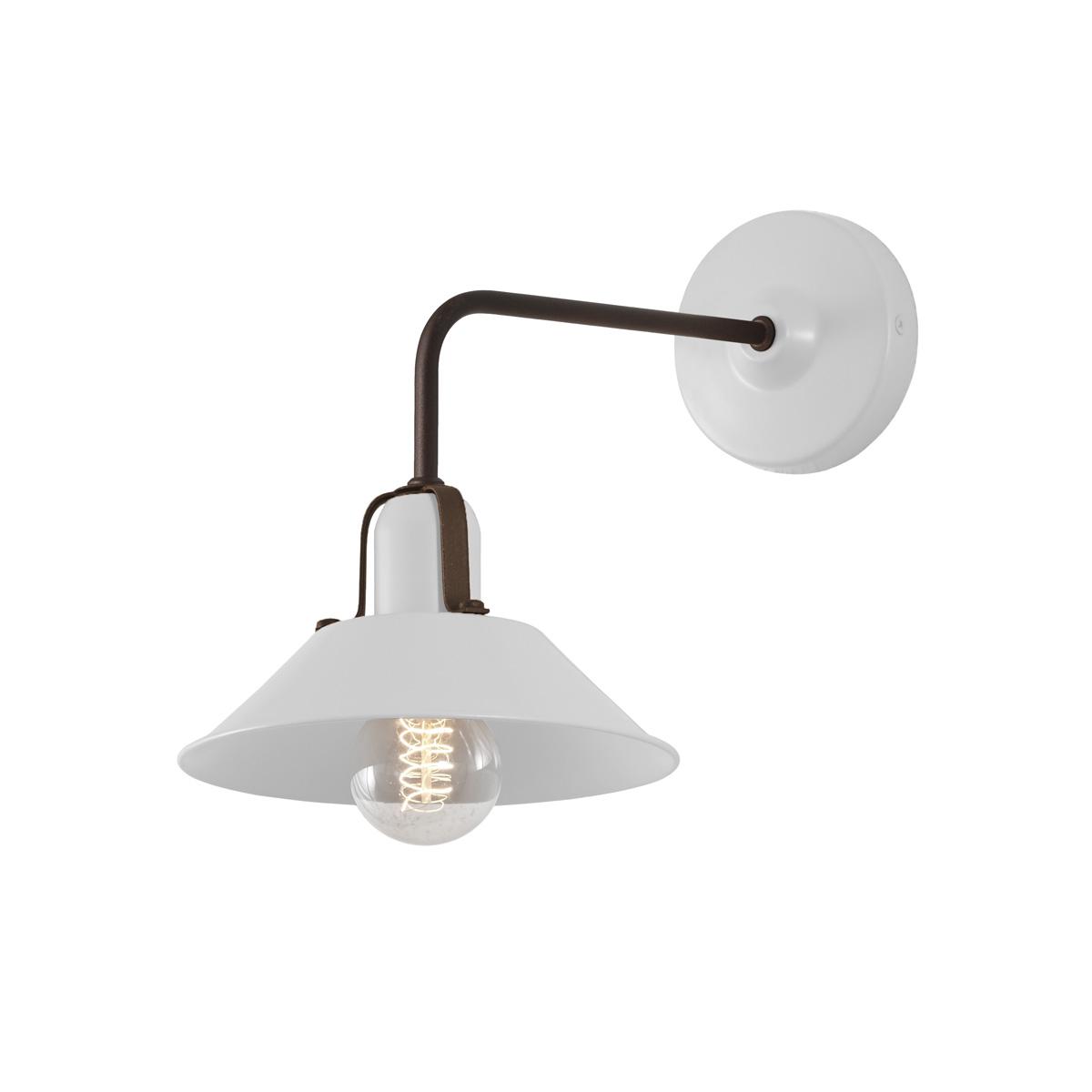 Vintage λευκή απλίκα ΜΗΛΟΣ vintage white wall lamp