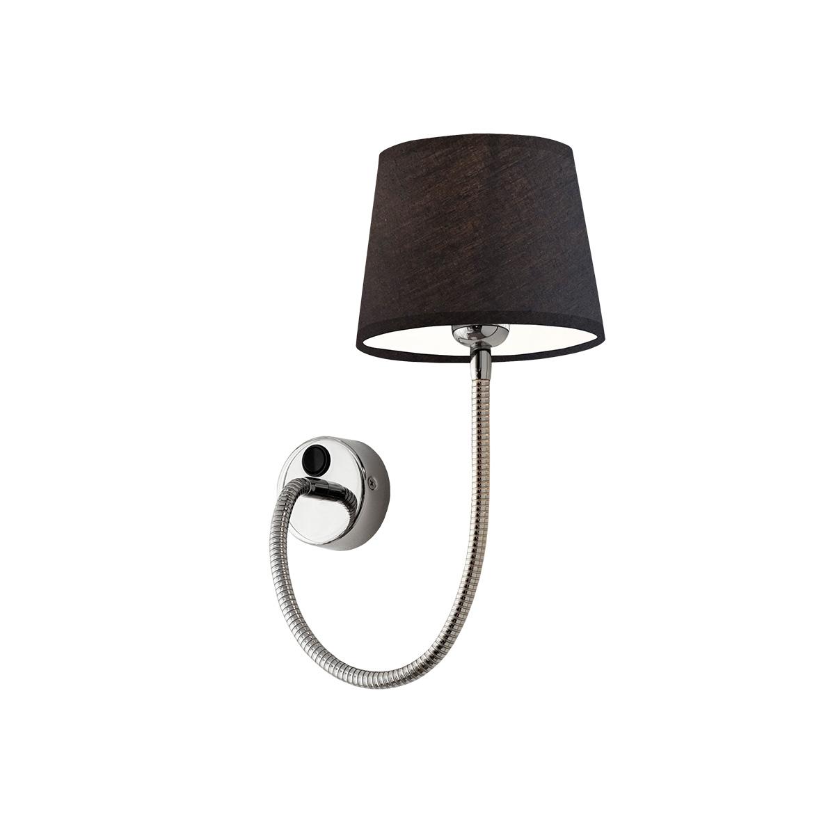 Απλίκα με ενσωματωμένο διακόπτη και καπέλο FLEX wall lamp with attached switch and shade