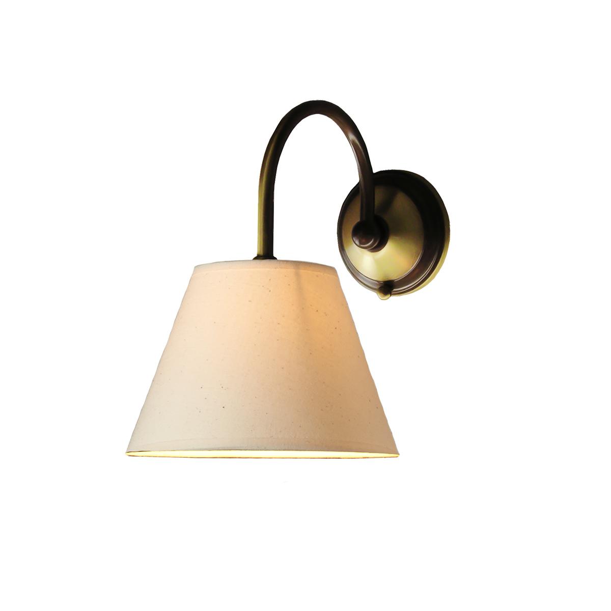 Κλασική απλίκα με καπέλο ΝΑΞΟΣ-1 classic wall lamp with lamp shade