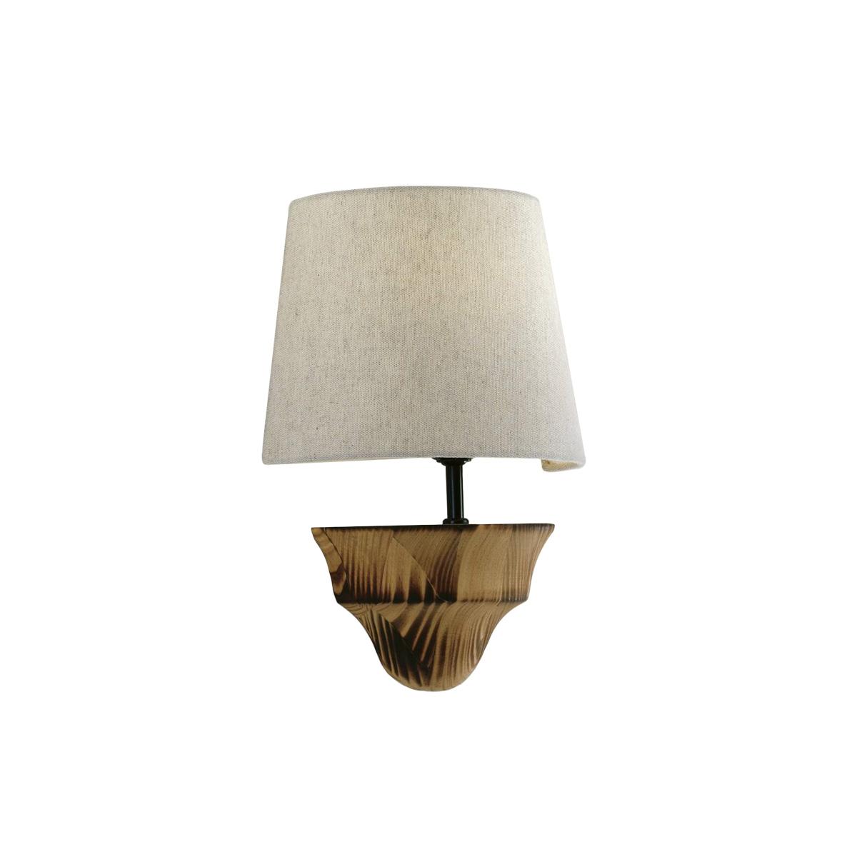 Υφασμάτινη απλίκα BAMBOO fabric wall lamp