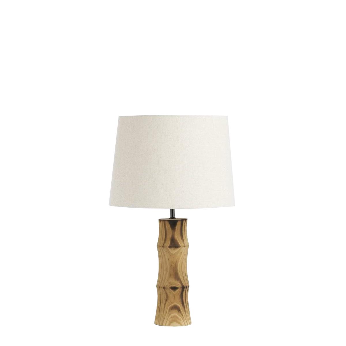 Ξύλινο φωτιστικό - πορτατίφ BAMBOO small wooden table lamp